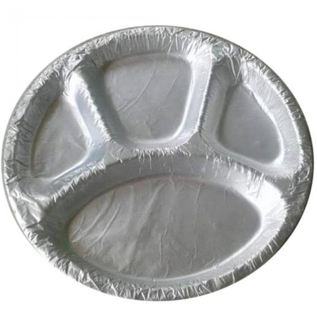 Silver Coated Plate