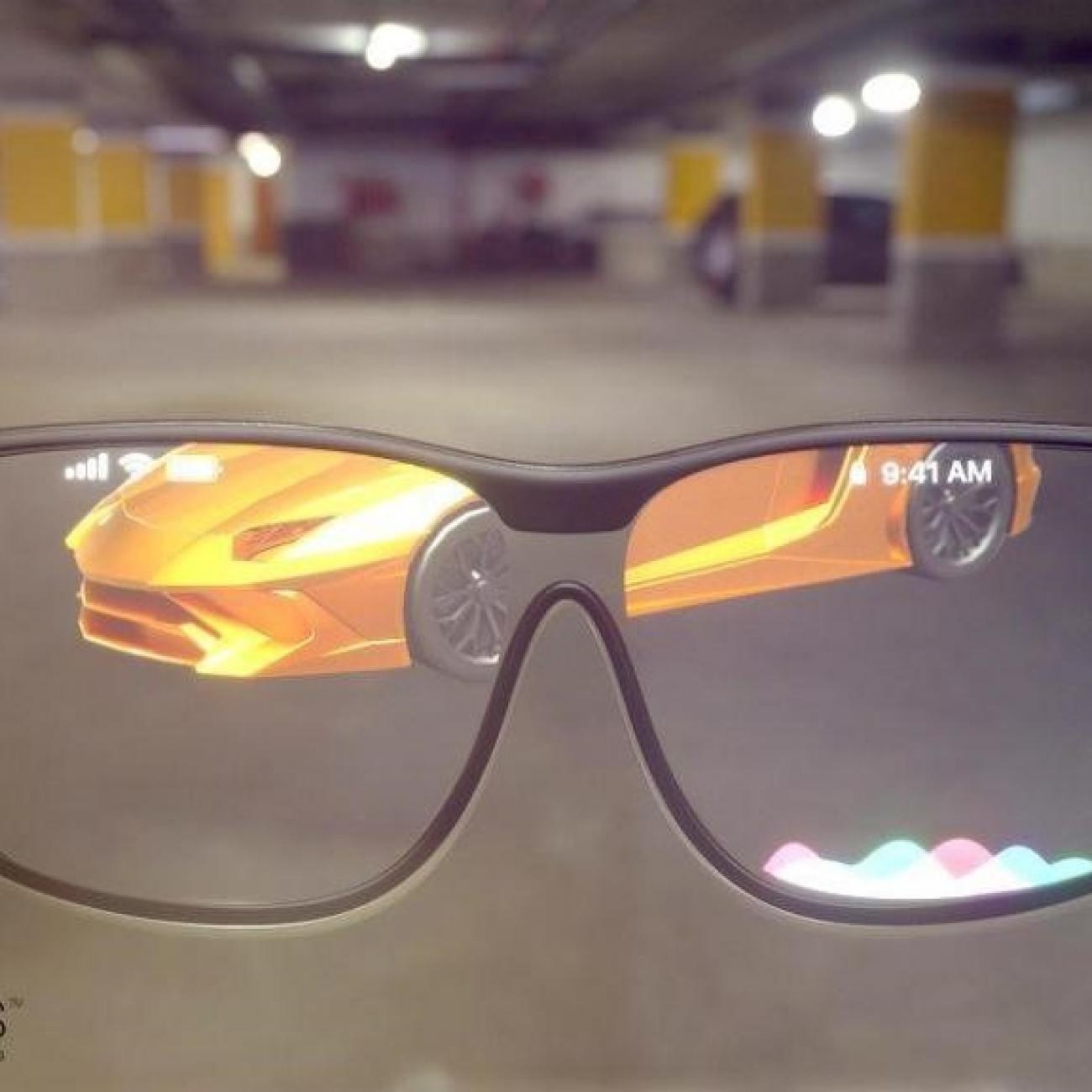 Augmented reality glasses or smart