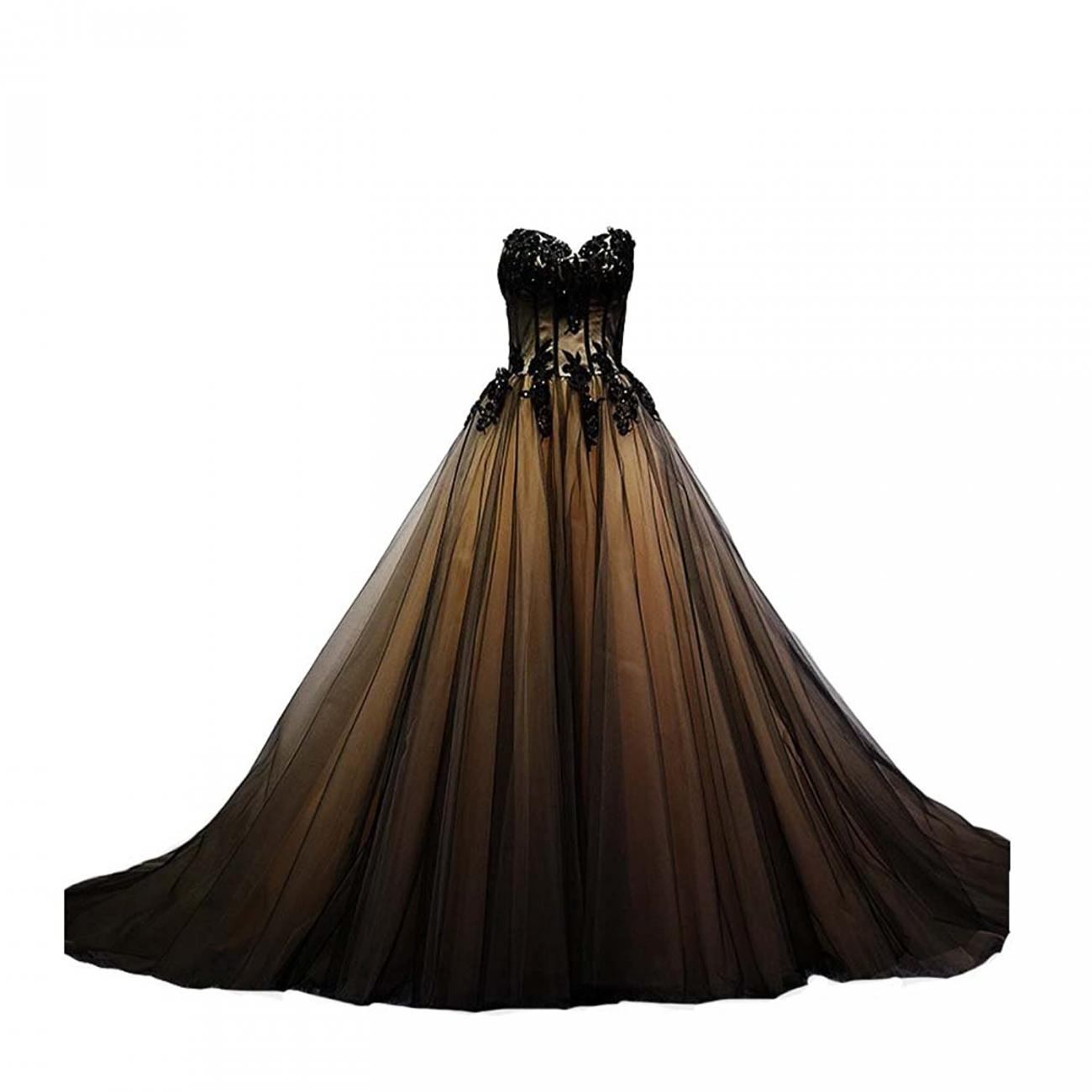 Tulle Zipper Gothic