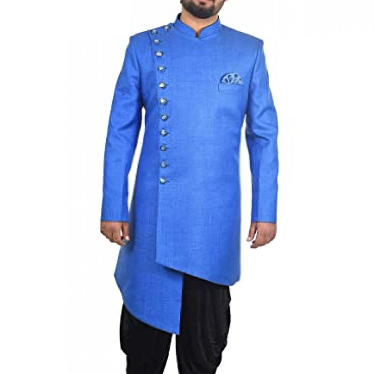 Mens Indo Western Dhoti Suit Dress