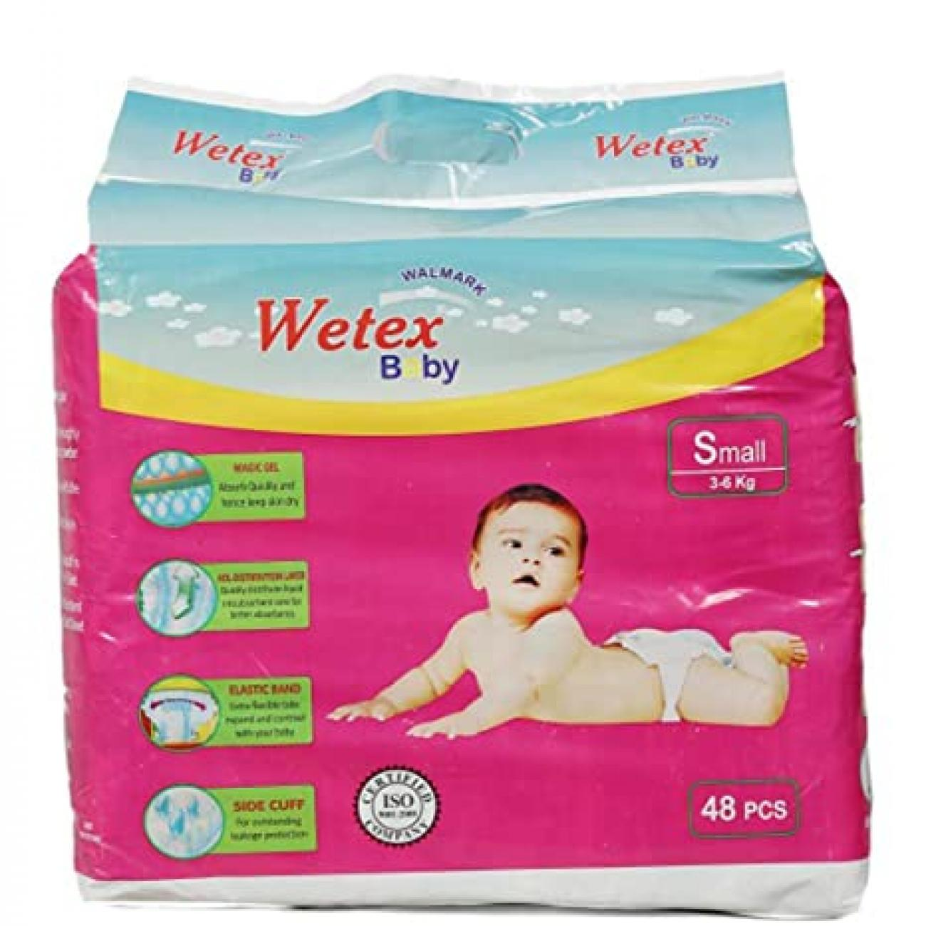 White Baby Diapers