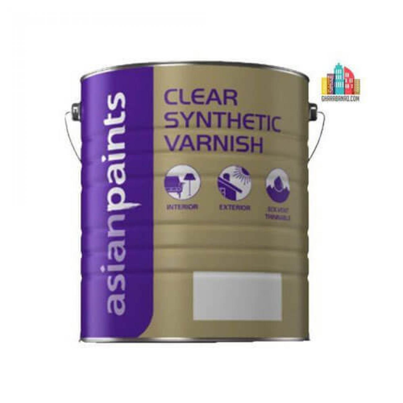 Clear Synthetic Varnish Asian Paint