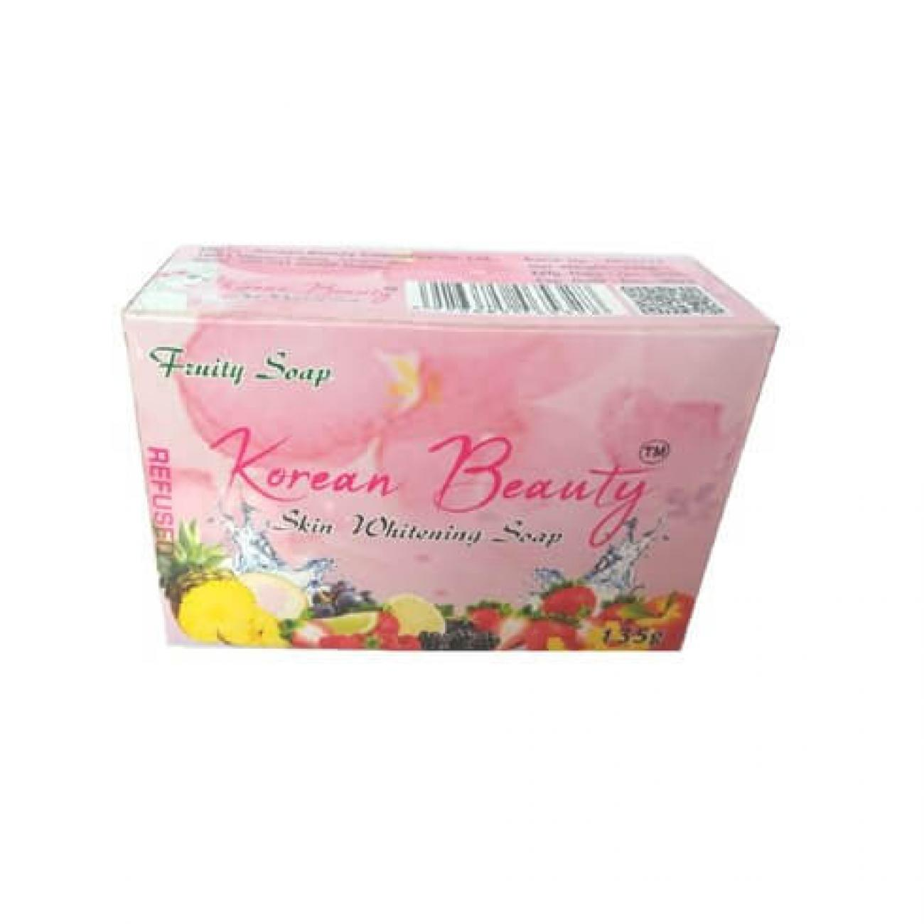 Herbal Korean beauty whitening soap