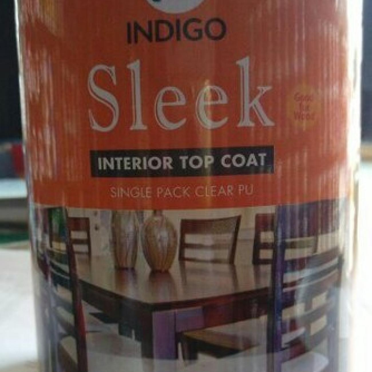 Clear Oil Based Paint Sleek Single Pack PU (Indigo Paints)