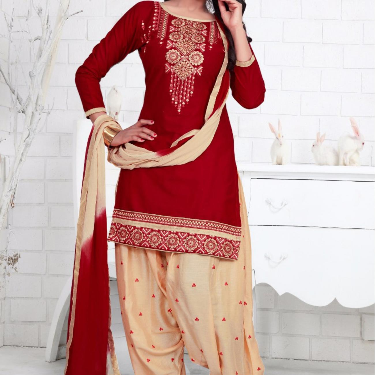 Cotton-Party-Wear-Patiala-Suit-In-Red-Colour-US1651526-A-1200x1799_(1)