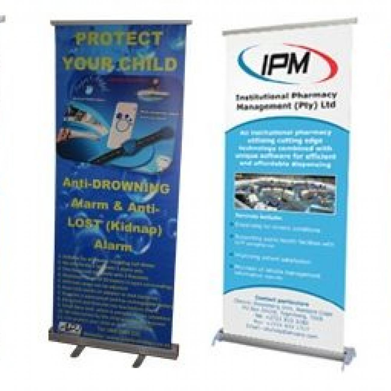 Pull-Up & Retractable Banners