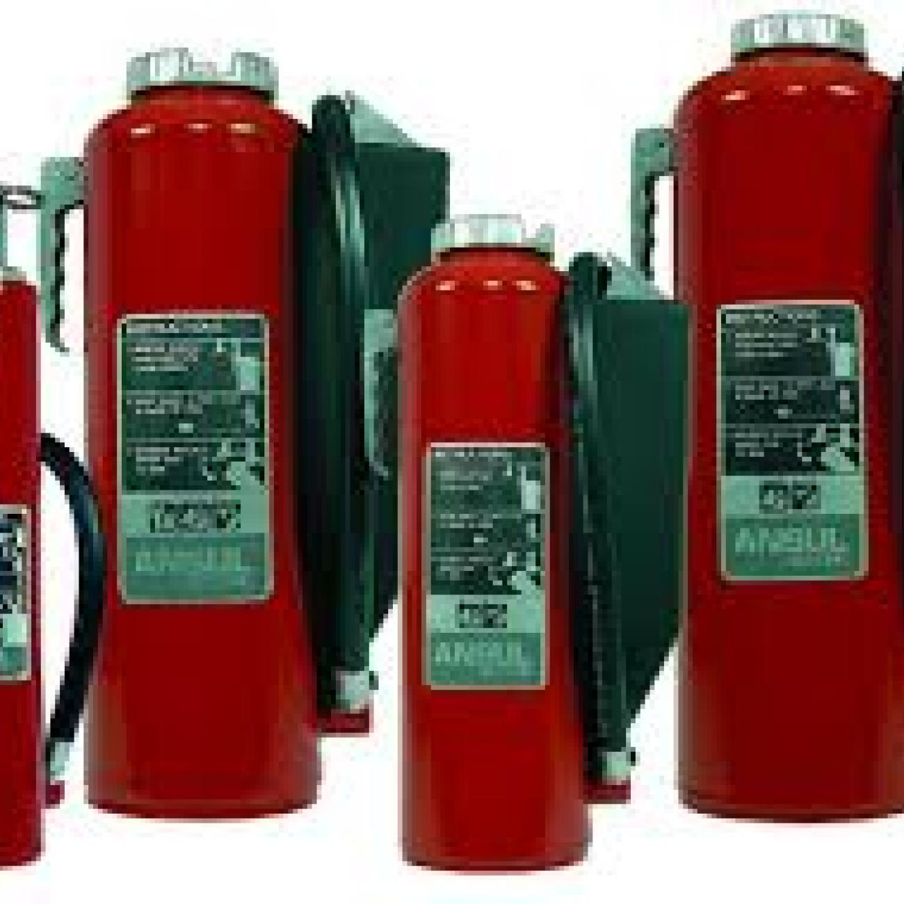 Cartridge Operated Dry Chemical Extinguisher