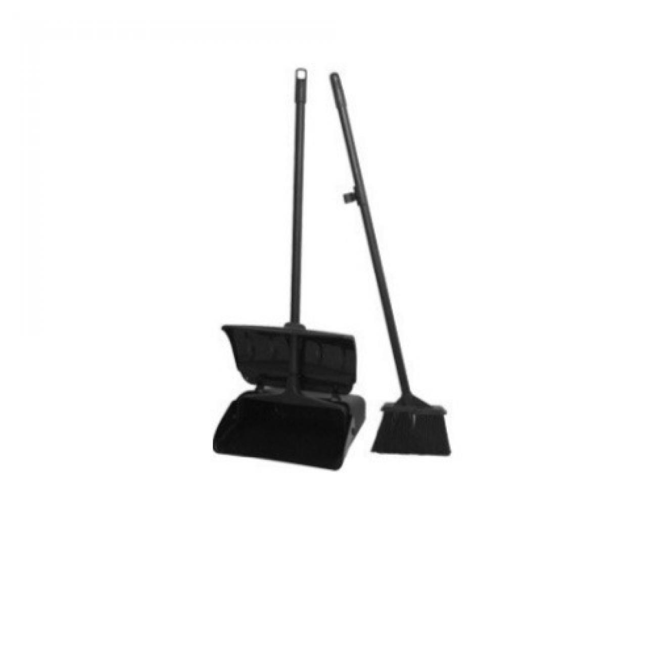 Lobby Dust Pan Set with Broom