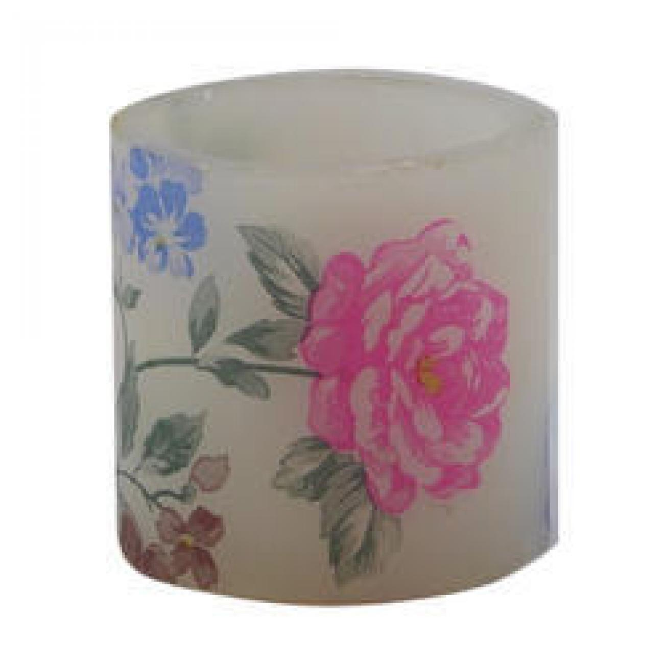 Luminary Printed Hollow Candle