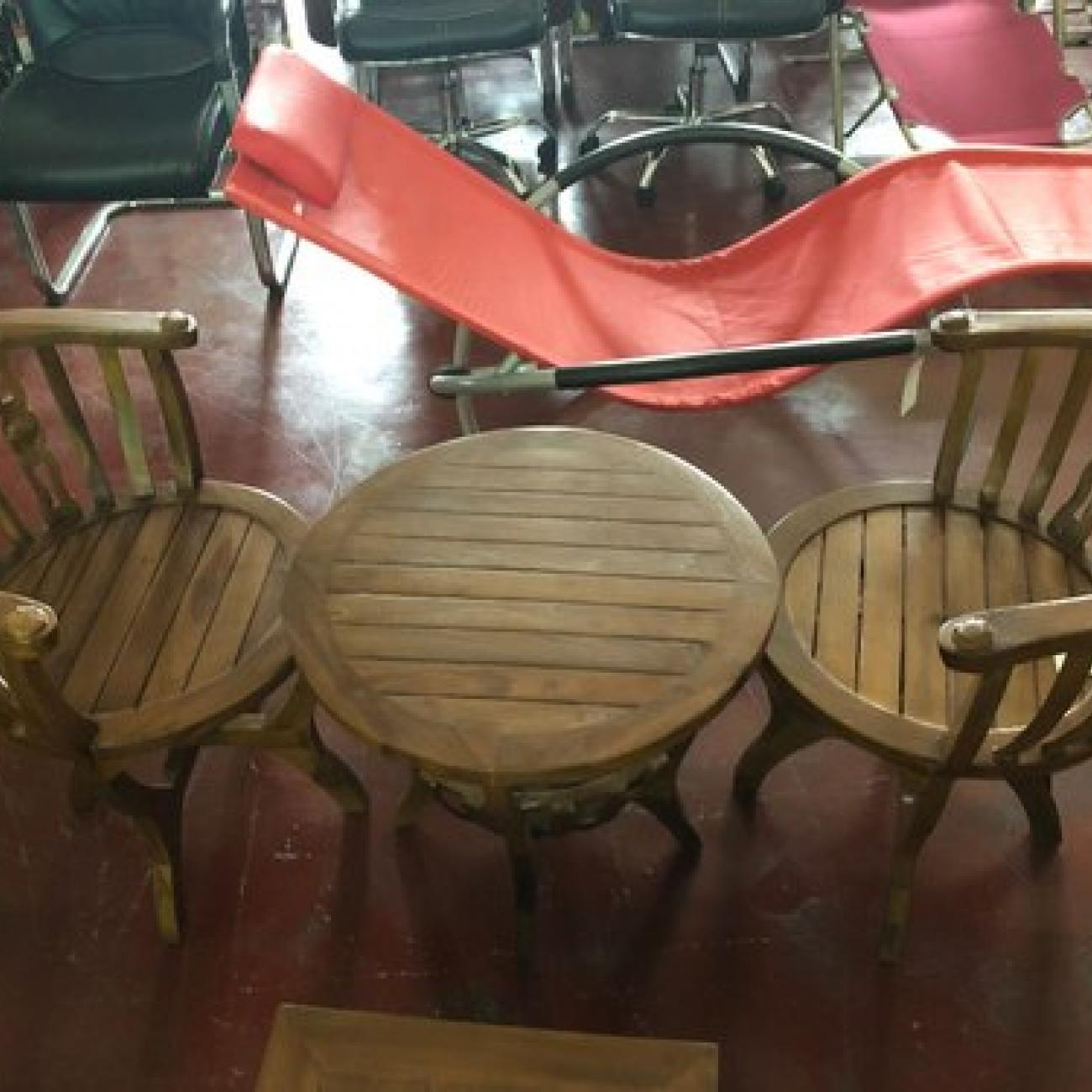 Restaurant Table Chair Set